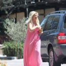 Tori Spelling – Clebrates Her 45th Birthday At Garland Hotel In Los Angeles - 454 x 557