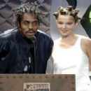 Coolio and Bjork At The MTV Video Music Awards 1994