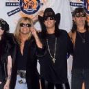 Motley Crue at the 1990 MTV Awards - 454 x 297