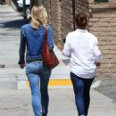 Alyson Hannigan and Leslie Bibb out for lunch in Studio City - 454 x 534