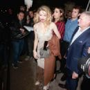 Amber Heard – Arrives at WME Talent Agency Party in Los Angeles