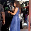 Kim Kardashian: arrive back to her hotel in Miami