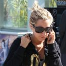 Ashley Tisdale: Arriving at the Equinox Gym