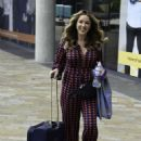 Claire Sweeney – Leaving BBC Breakfast Studios in Manchester - 454 x 619