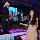 Tuba Büyüküstün and Onur Saylak attends  UNICEF Aid Night (December 11, 2014)