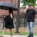 Blac Chyna Gives Rob Kardashian a Tour of Her Old High School in Washington DC - July 4, 2016