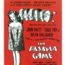 THE PAJAMA GAME 1954. HAROLD PRINCE WAS CO-PRODUCER