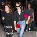 Claire Foy At LAX International Airport (September 18, 2018) - 429 x 600