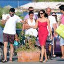 Rosario Dawson And Boyfriend Mathieu Schreyer In Ischia