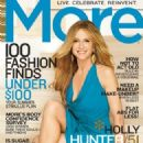 Holly Hunter - More Magazine Cover [United States] (July 2009)
