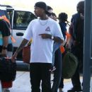 Kylie Jenner and Tyga spotted departing on a flight in Costa Rica on January 30, 2017 - 437 x 600