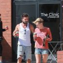 Nicky Whelan – Outside Bulletproof Coffee in Santa Monica