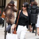 Vanessa Hudgens: Shopping in Paris