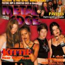 Morgan Lander, Mercedes Lander, Fallon Bowman - Metal Edge Magazine Cover [United States] (January 2001)
