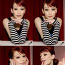 Justine Joli Does Her Best Audrey Hepburn - 454 x 687