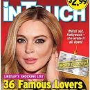 Lindsay Lohan's List of A-List Lovers Exposed! Handwritten list reveals Lohan's Hollywood Hookups with Zac Efron, Adam Levine, Justin Timberlake and more!
