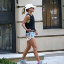 Kelly Ripa in Shorts – Going for a jog in NYC - 454 x 482