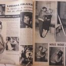 Luciana Paluzzi - Cinemonde Magazine Pictorial [France] (6 November 1958) - 454 x 329