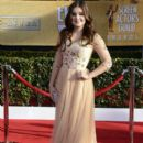 Ariel Winte arrives at the 19th Annual Screen Actors Guild Awards held at The Shrine Auditorium on January 27, 2013 in Los Angeles, California