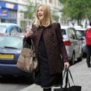 Fearne Cotton: arrives at Radio 1 in London
