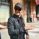 f Jeremy Renner leaving his New York City hotel (July 31)