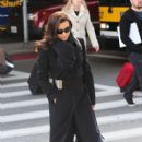 Eva Longoria: arrives at LAX