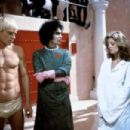 Tim Curry, Susan Sarandon, Barry Bostwick and Peter Hinwood in The Rocky Horror Picture (1975)