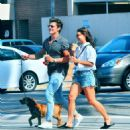 July 25, 2017 - Danielle Campbell and Gregg Sulkin out and about in Los Angeles, CA - 454 x 503