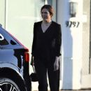 Mandy Moore in Black Suit – Out in Beverly Hills