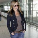 Jennifer Aniston Departs London, July 23, 2010