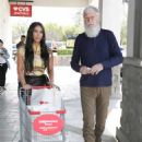 Kim Kardashian and David Letterman – Shopping candids in Calabasas