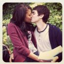 Kylie Bunbury and Ashton Moio