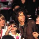 Steven Tyler with his family