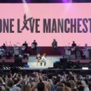 Ariana Grande – Performs on One Love Manchester Benefit Concert in Manchester - 454 x 302