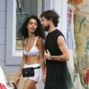 Raven Lyn Corneil and Jack Dorsey – Shopping in St Barth