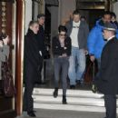 Kristen Leaving Her Hotel in Paris January 31, 2012