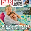 Xuxa Meneghel and Junno Andrade - Caras Magazine Cover [Brazil] (6 January 2017)