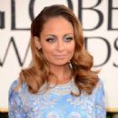Nicole Richie wearing Naeem Khan at the 2013 Golden Globe Awards