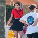 Kaia Gerber – Photoshoot on the beach in Miami
