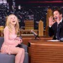 Dakota Fanning on 'The Tonight Show Starring Jimmy Fallon' in NY