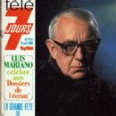 Alec Guinness - Télé 7 Jours Magazine Cover [France] (19 April 1980)
