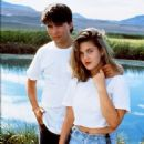 Drew Barrymore and Andras Jones