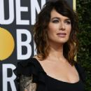 Lena Headey At The 75th Golden Globe Awards (2018)