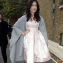 Daisy Lowe Arriving For The Giles Show For London Fashion Week 2014