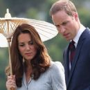 Kate Middleton and Prince William visiting the Kranji Commonwealth War Cemetery in Singapore (September 13)