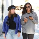 Kelly Gale in Tights – Out for lunch with a friend in Beverly Hills - 454 x 681