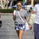 Reese Witherspoon is seen going to the market with husband Jim Toth in Los Angeles, California on June 19, 2016 - 400 x 600