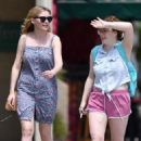 Kirsten Dunst out for lunch in Toluca Lake
