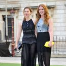 Holliday Grainger and Olivia Hallinan attend the Royal Academy Summer Exhibition Preview Party at Royal Academy of Arts on June 4, 2014 in London, England