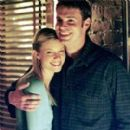 Amy Smart and Scott Foley